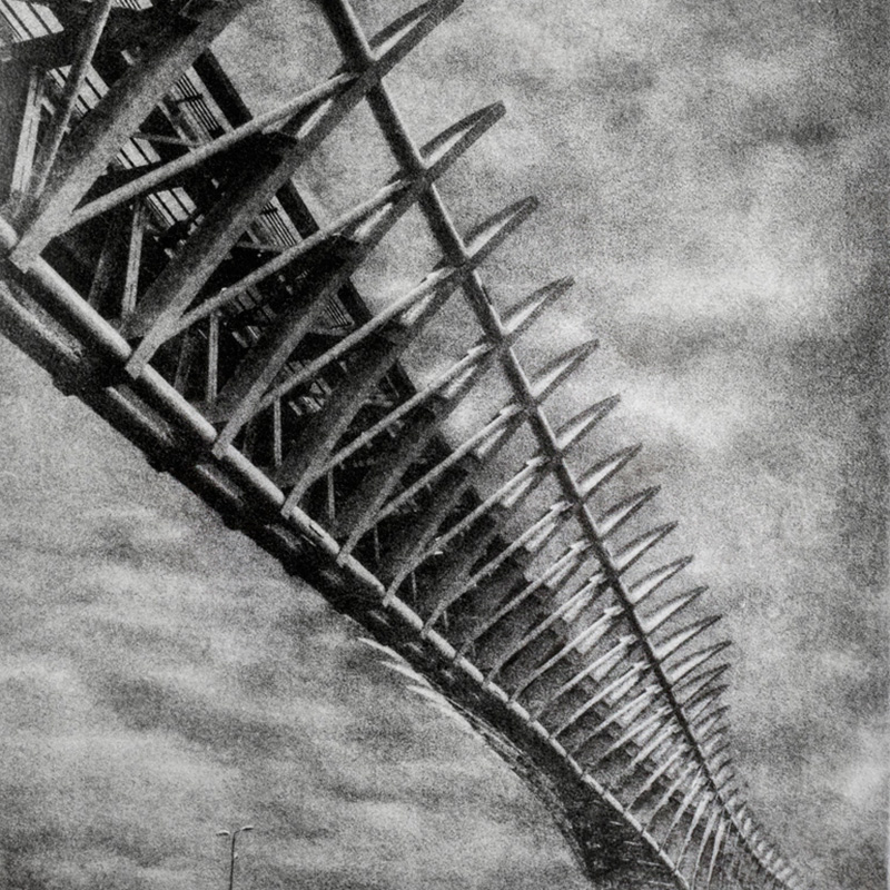 People Mover Bridge - Venezia - bromolio - camera oscura - fotografia analogica